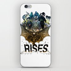 you're COLOR rises iPhone & iPod Skin