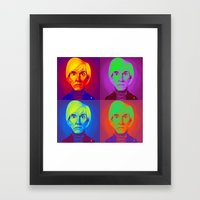 Celebrity Sunday - Andy … Framed Art Print
