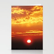 MM - Sunset Of The City Stationery Cards