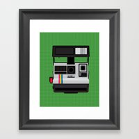 Polaroid Supercolor 635C… Framed Art Print