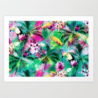 Exotic Vegetation Art Print