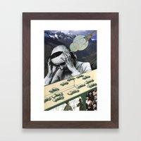 Sometimes It's One Big Headache Framed Art Print