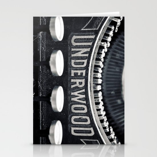 Underwood Stationery Card