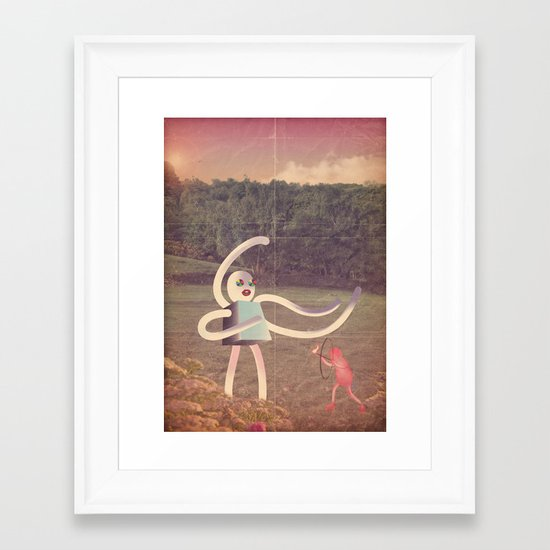 ri_controller24 Framed Art Print