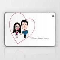 Rebecca Black And Simon … Laptop & iPad Skin