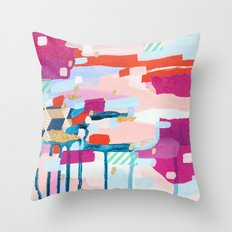 Asking for Directions Throw Pillow