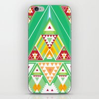 Triangle Indigenous Pattern iPhone & iPod Skin