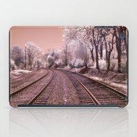 Train Track in Culpeper iPad Case