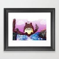 Buboro Framed Art Print
