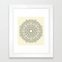 Mandala 6 Framed Art Print