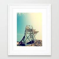 End of Summer Nostalgia II Framed Art Print