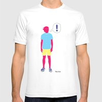 Le Cool Kid Mens Fitted Tee White SMALL