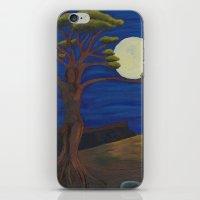 Gaia and Luna Ver. 2.0 iPhone & iPod Skin