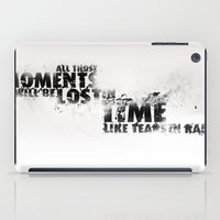 Moments Lost iPad Case