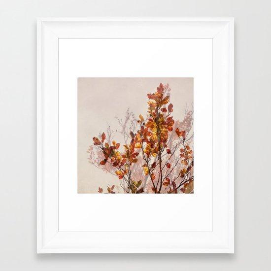 autumn symphonies II Framed Art Print