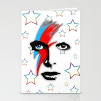 Bowie's Eyes Stationery Cards