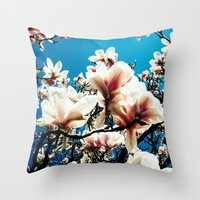 Magnolia details Throw Pillow
