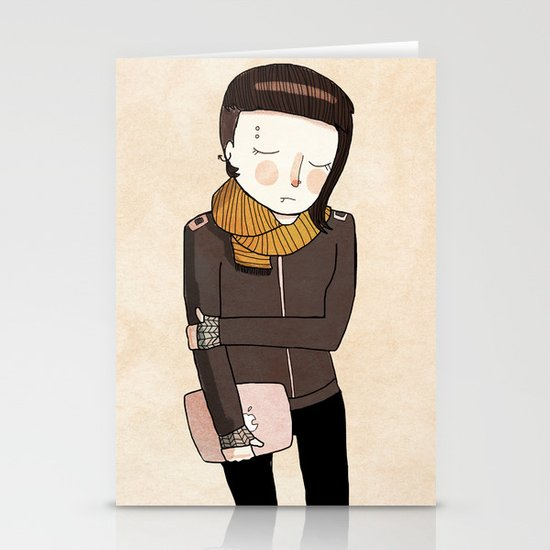 Lisbeth Stationery Card