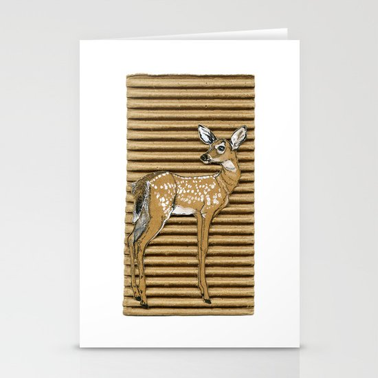 ciao cara Stationery Card