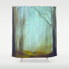 Prince of the Forest Shower Curtain