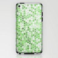 Pattern Mosaic Serie Gre… iPhone & iPod Skin