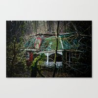 Red House Canvas Print