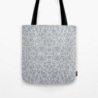 Ab Blocks Grey #3 Tote Bag