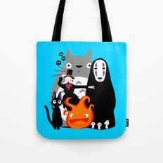 Ghibli'd Away Tote Bag