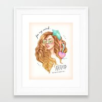 Free My Mind, ARTPOP Framed Art Print