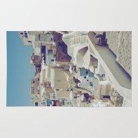 Streets of Santorini II Rug