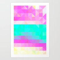 Pink Natures Art Print
