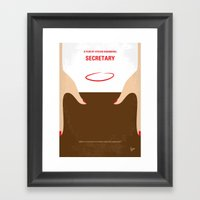 No371 My Secretary Minim… Framed Art Print