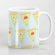 Happiness Is Pizza Mug