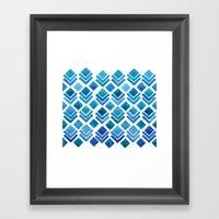 Ice House Framed Art Print