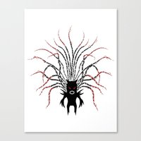 Karma Fairy [DARK] Canvas Print