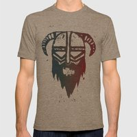 Brutal Viking 4 Mens Fitted Tee Tri-Coffee SMALL