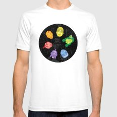 Colorheads SMALL White Mens Fitted Tee