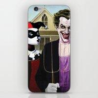 Why So American Gothic? iPhone & iPod Skin