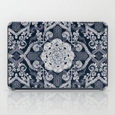 Centered Lace - Dark iPad Case