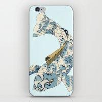 Koi Japanese Fish Number… iPhone & iPod Skin