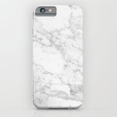Marble white and grey iPhone 6s Slim Case