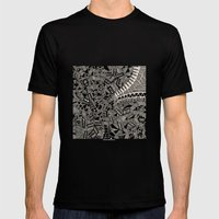 - Marina - Mens Fitted Tee Black SMALL