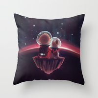 End of A Journey Throw Pillow
