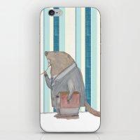 Dr Beaver iPhone & iPod Skin