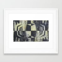 Encaustic study 1 Framed Art Print