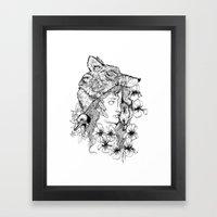 Wolf Like Me Framed Art Print