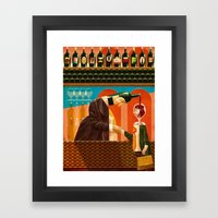 Food for thought Framed Art Print