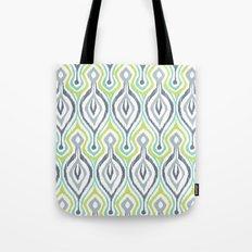 Sketchy IKAT Tote Bag