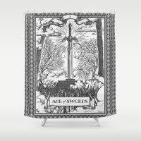 Legend Of Zelda Master S… Shower Curtain