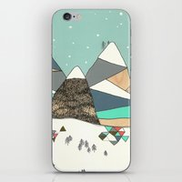Winter wonderland iPhone & iPod Skin